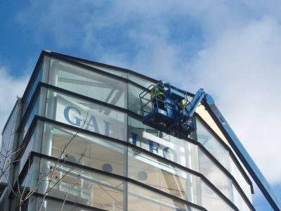 High Level Glazing - Langley Glazing