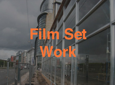 Film set work with Langley Glazing